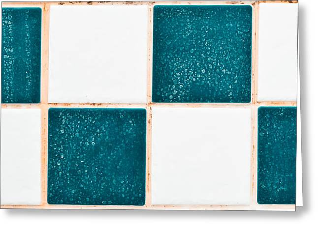 Limescale In Bathroom Greeting Card by Tom Gowanlock