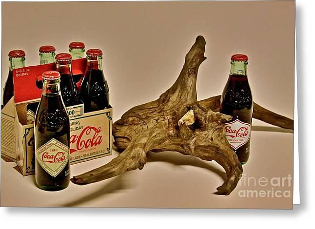 Limited Edition Coke Greeting Card by Joe Finney