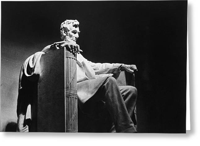 Lincoln Memorial Greeting Card by Granger