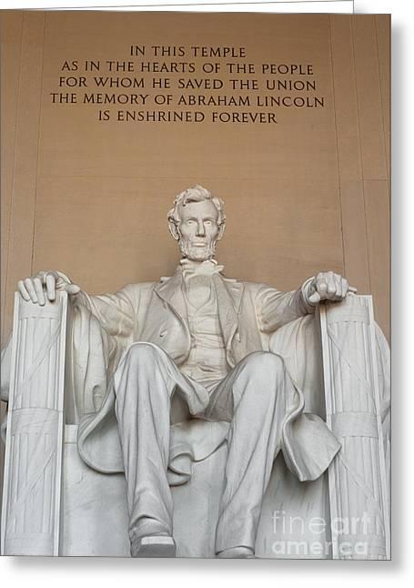 Lincoln Memorial II Greeting Card
