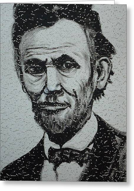 Lincoln Greeting Card by Pete Maier