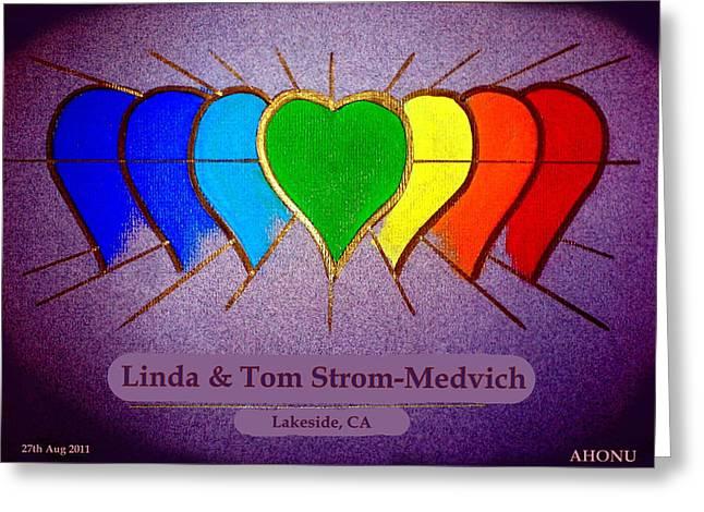 Linda And Tom Greeting Card