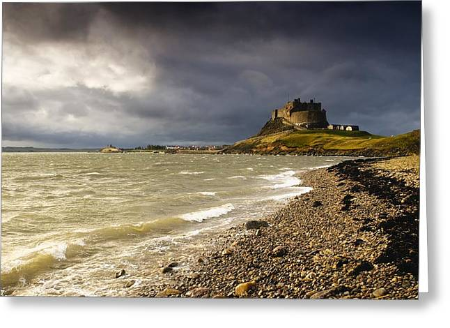 Lindisfarne Castle Holy Island Photograph By John Short