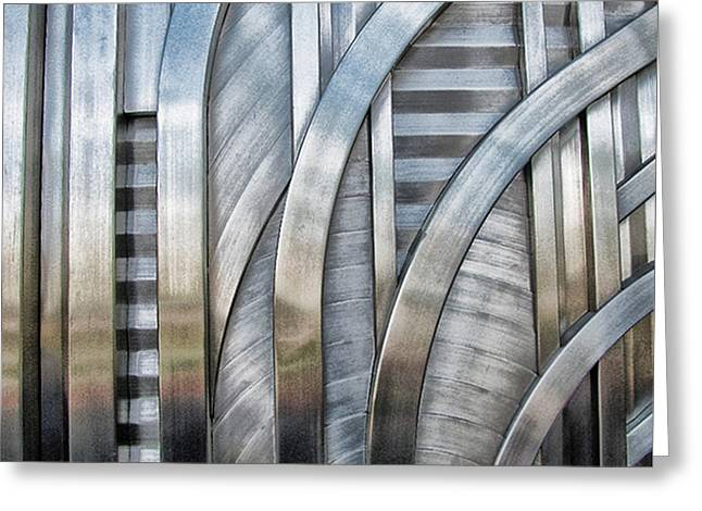 Greeting Card featuring the photograph Lines And Curves by Tammy Espino