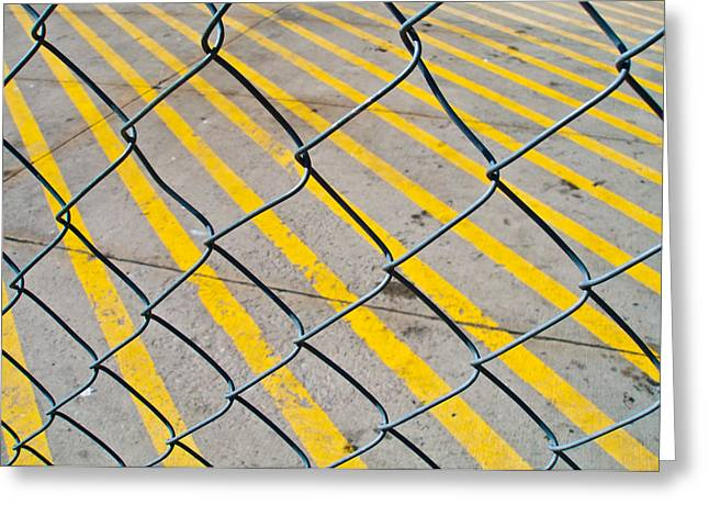 Greeting Card featuring the photograph Lines by David Pantuso