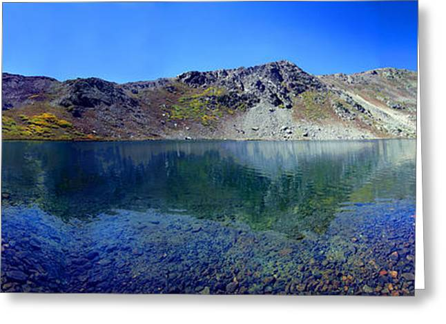 Linkins Lake Colorado Greeting Card by Ric Soulen
