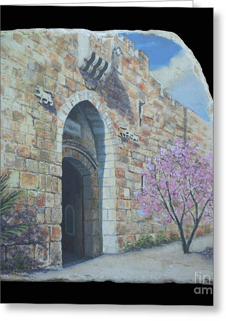 Lions Gate Greeting Card