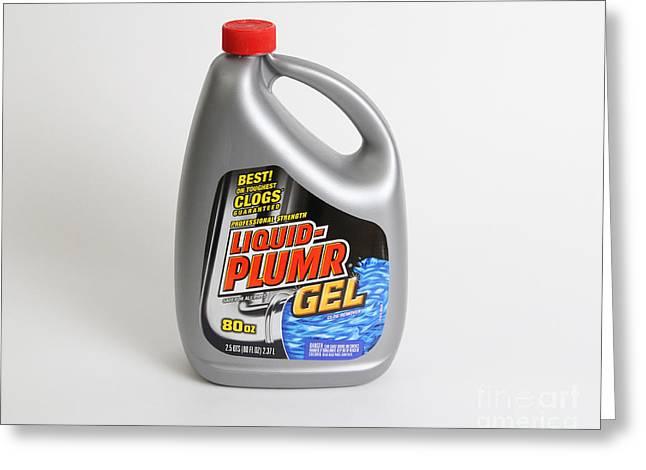 Liquid-plumr Greeting Card