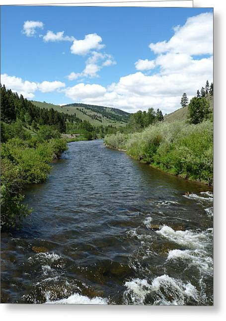 Little Blackfoot River Greeting Card