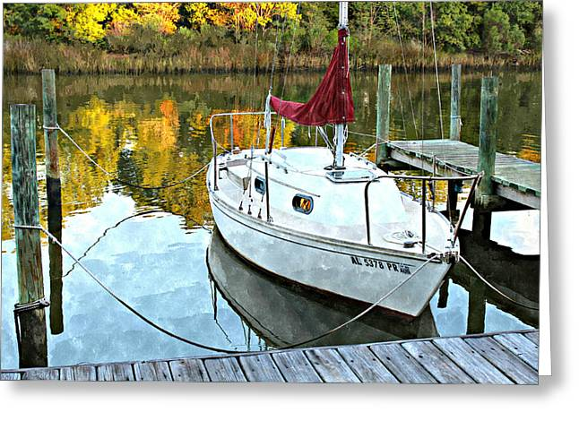 Little Sailboat Greeting Card