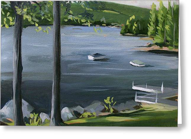 Little Squam In June Greeting Card