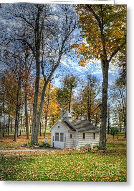 Little White Chapel Greeting Card