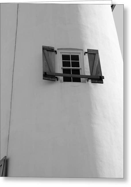 Little Window To The Ocean Greeting Card by Toni Hopper