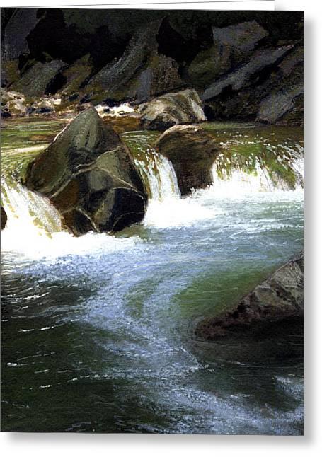 Little Yosemite-alameda Creek Greeting Card
