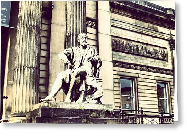 #liverpool #museum #museums #guy #stons Greeting Card