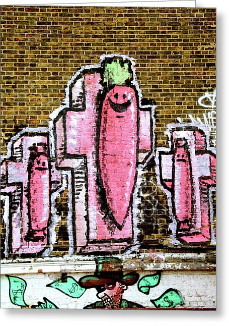 Greeting Card featuring the photograph Living Carrots by Jez C Self
