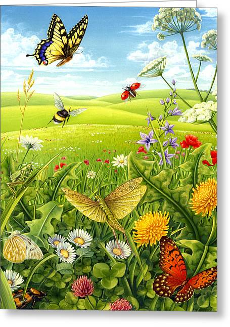 Living Meadow Greeting Card