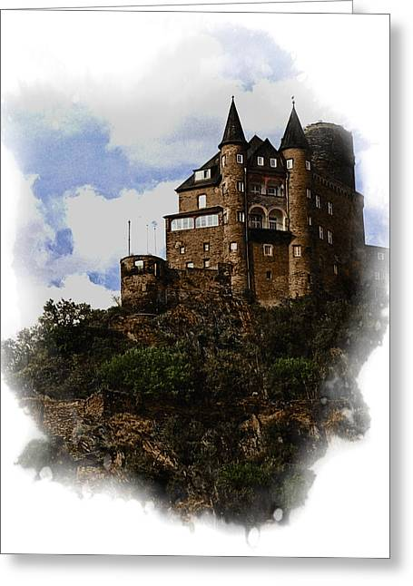 Living On The Rhine Greeting Card by Cecil Fuselier