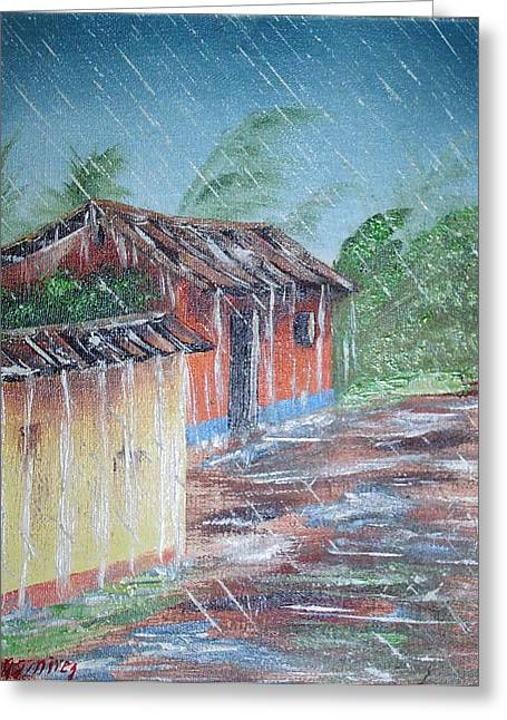 Lluvia Greeting Card