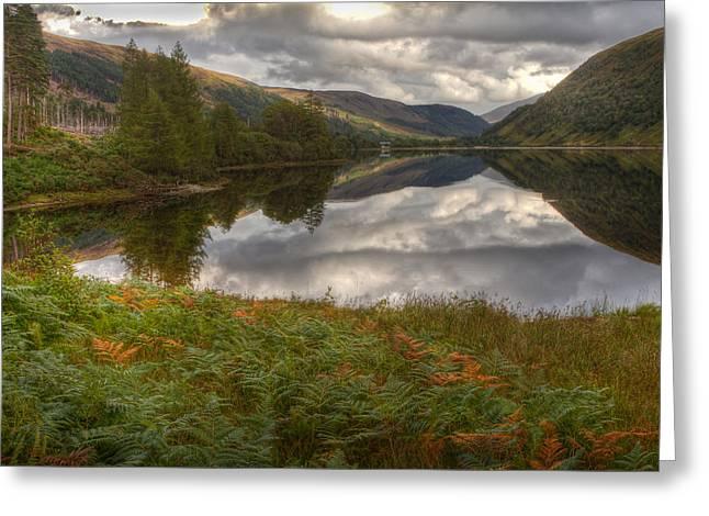 Loch Dughaill Scotland Uk Greeting Card