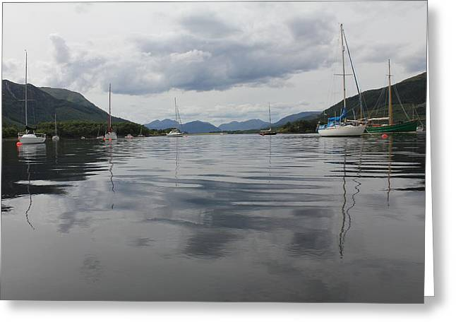 Loch Leven - Glencoe Greeting Card by David Grant