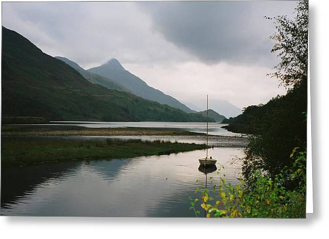 Loch Leven Scotland Greeting Card by Jasna Buncic