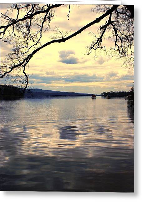 Loch Lommond Greeting Card by Chris Boulton