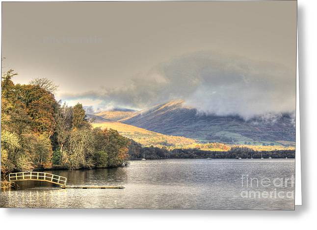 Loch Lomond Greeting Card by David Grant