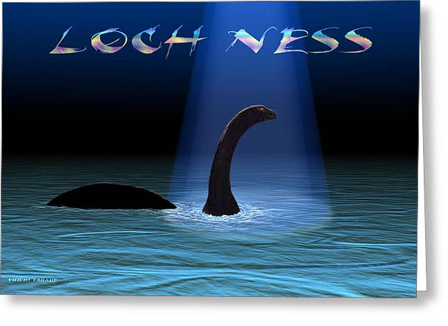 Loch Ness 1 Greeting Card