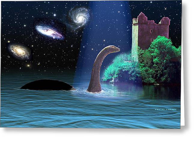 Loch Ness 2 Greeting Card