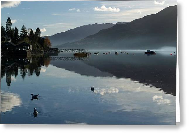 Greeting Card featuring the photograph Lochgoilhead by Lynn Bolt