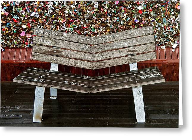 Greeting Card featuring the photograph Locks Of Love 2 by Kume Bryant