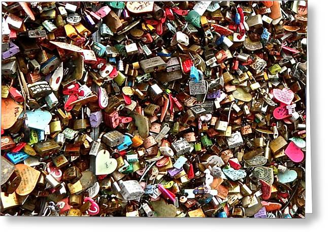Greeting Card featuring the photograph Locks Of Love by Kume Bryant
