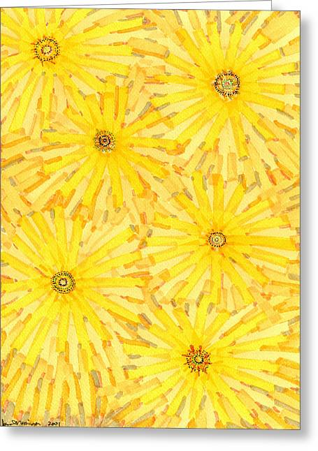 Loire Sunflowers One Greeting Card by Jason Messinger