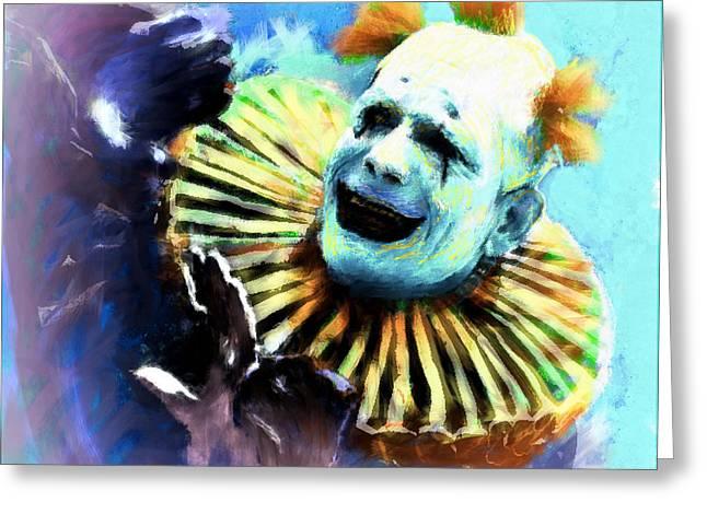 Lon Chaney Greeting Card by Arne Hansen