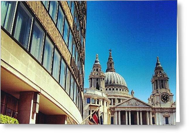 London - #greatbritain #london #uk Greeting Card by Abdelrahman Alawwad