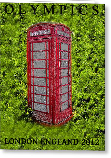 London Calling 2012 Greeting Card by David Lee Thompson