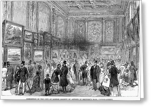 London: Exhibition, 1880 Greeting Card by Granger