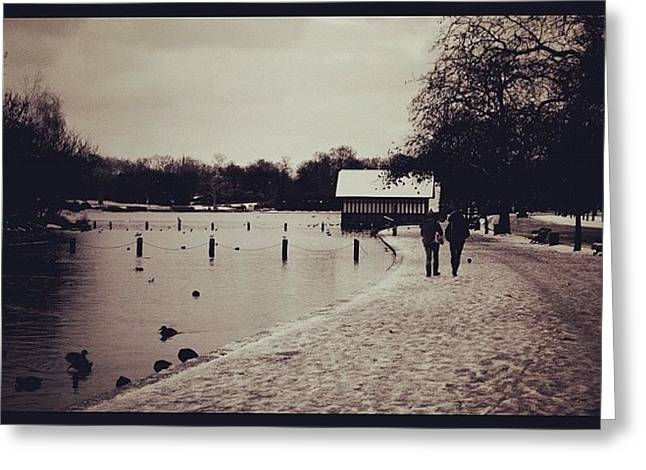 #london #hydepark Greeting Card