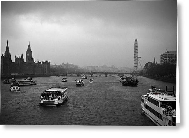 Greeting Card featuring the photograph London Jubilee 2012 by Lenny Carter