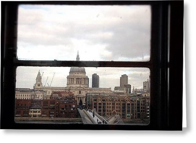 London Love Affair #photooftheday Greeting Card by A Rey