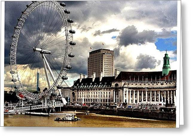 London Greeting Card by Mark B