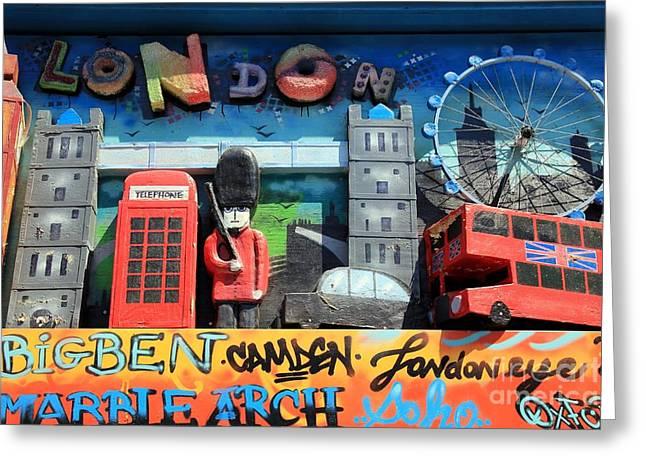 London Symbols Greeting Card by Sophie Vigneault