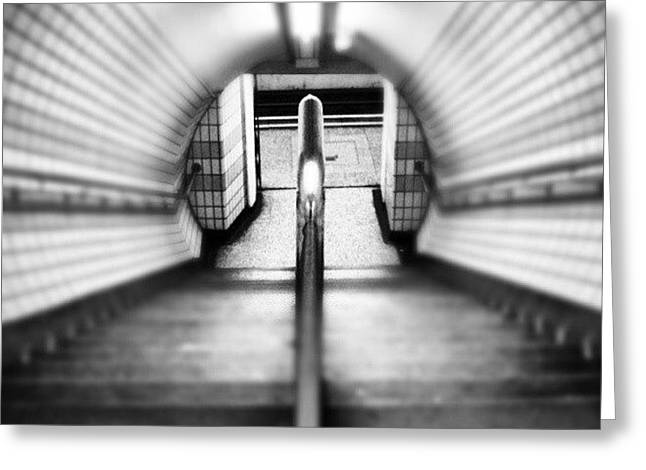#london #uk May 2012| #underground Greeting Card