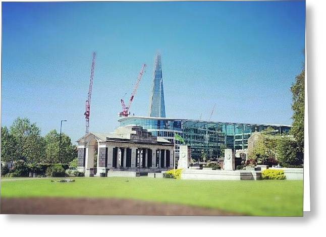 #london #uk #westminster #building Greeting Card