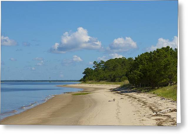 Lone Beach Greeting Card