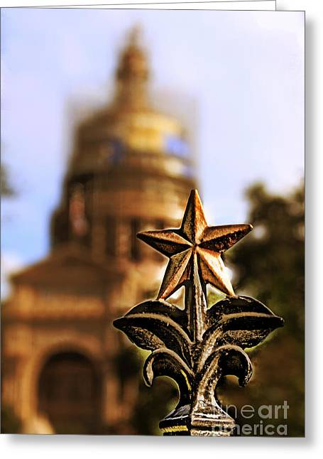 Lone Star Capitol Greeting Card by Joe Finney