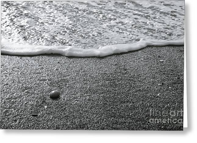 Lonely Pebble Greeting Card