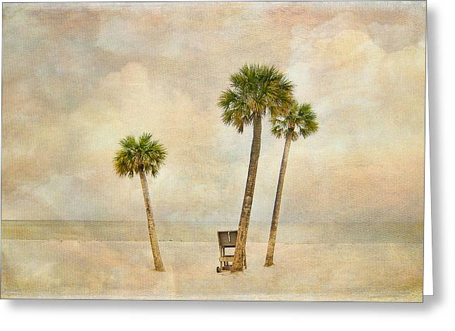 Lonely Shores Greeting Card by Stephen Warren
