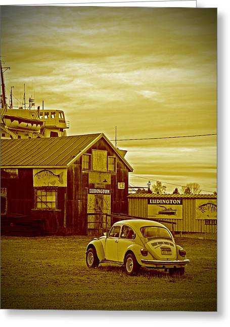 Greeting Card featuring the photograph Lonely Vw by Randall  Cogle
